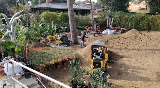 paisajismo diseño y construccion de jardines en barcelona