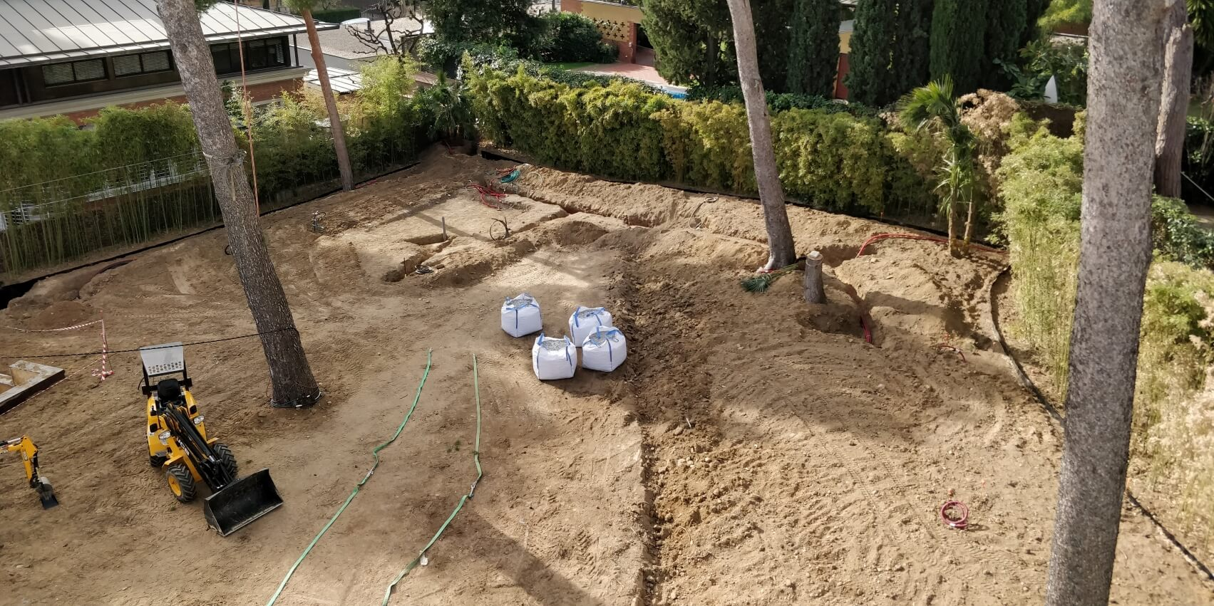 diseño y construcción jardín