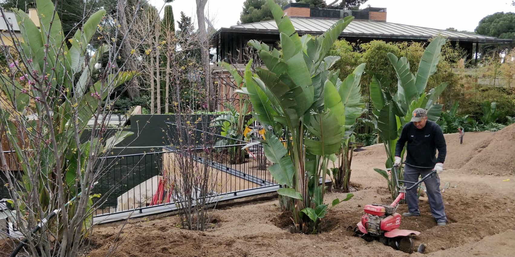 jardín privado barcelona