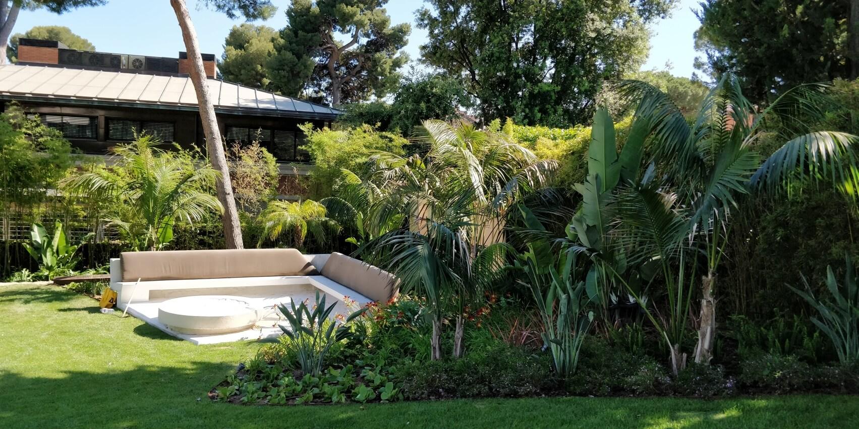 Jardín privado por PSM