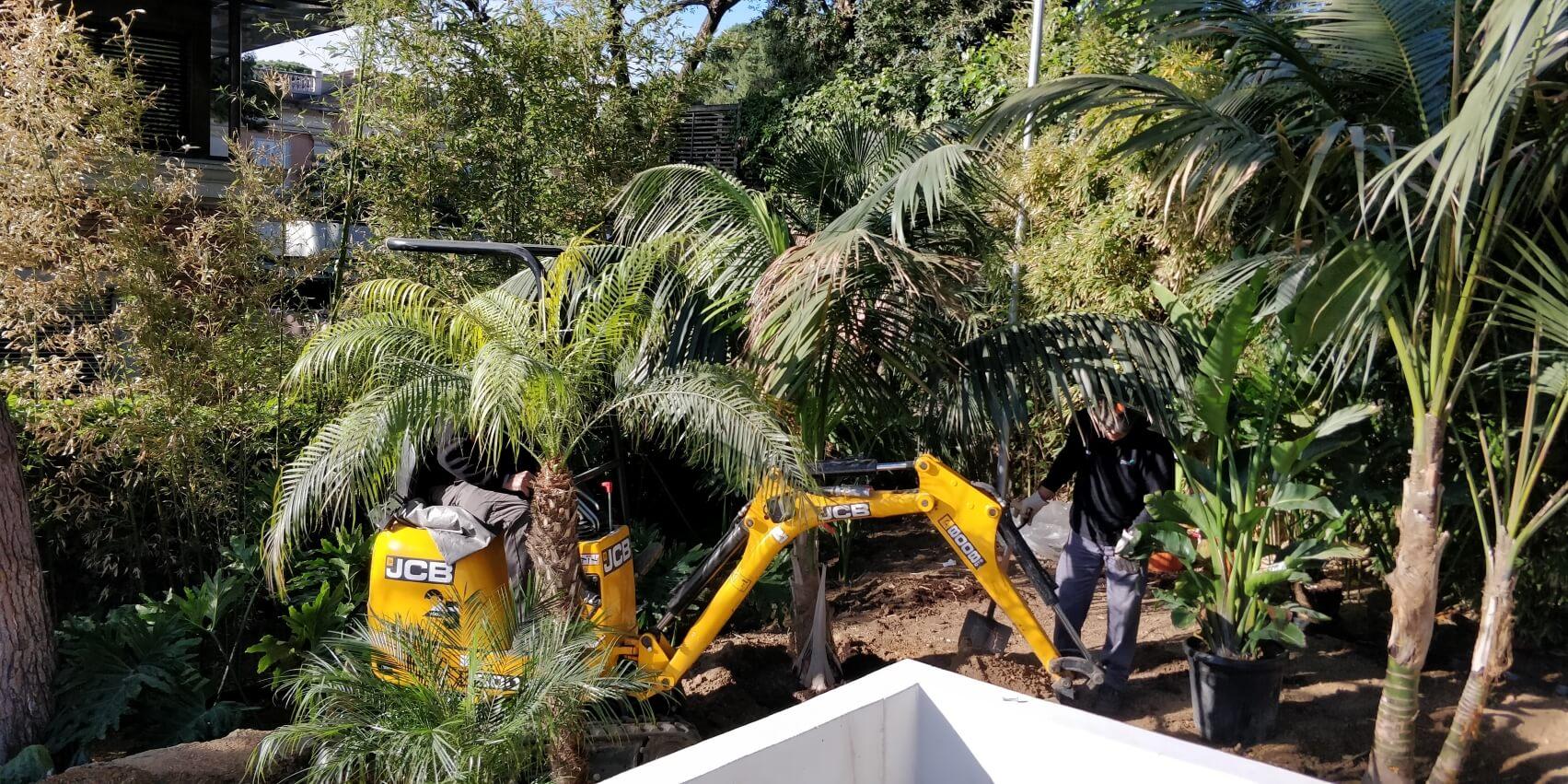 proyecto jardín en bcn
