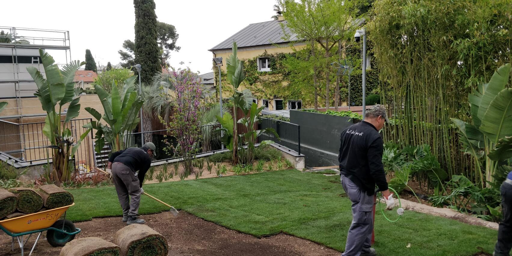 PSM jardín privado